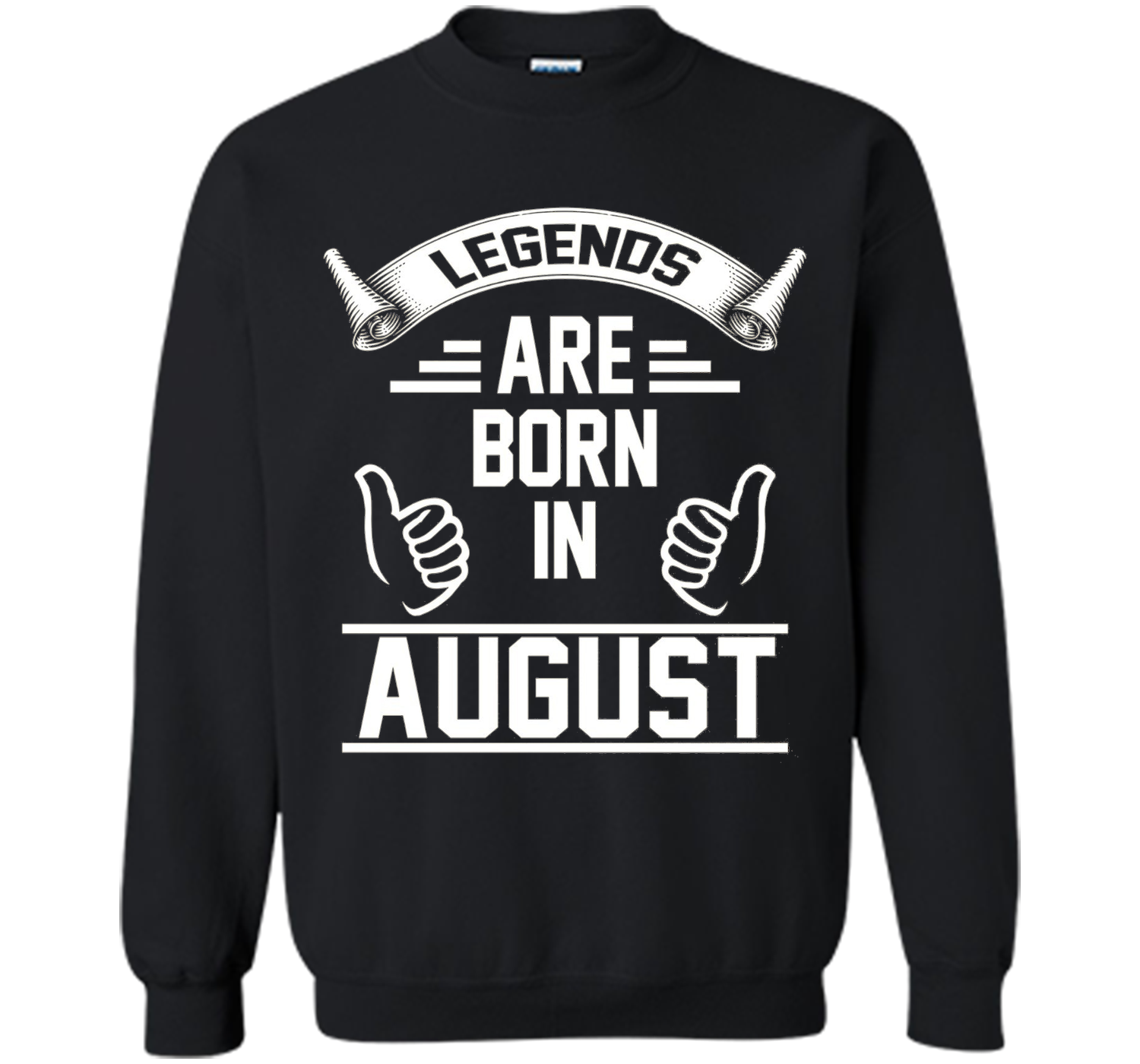 27e2b900 Legends Are Born In August. Funny Birthday T-Shirt For Men. Printed ...