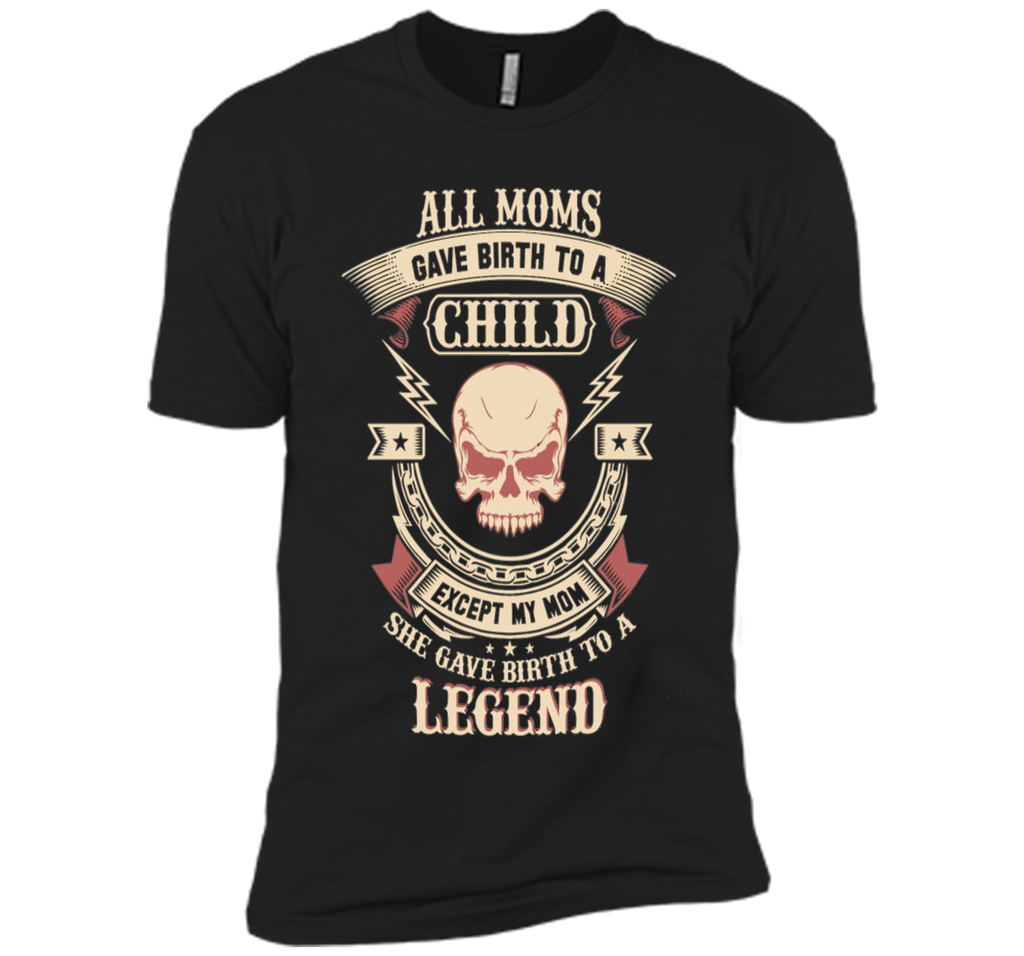 She Gave Birth To A Lineman Legend T-Shirt