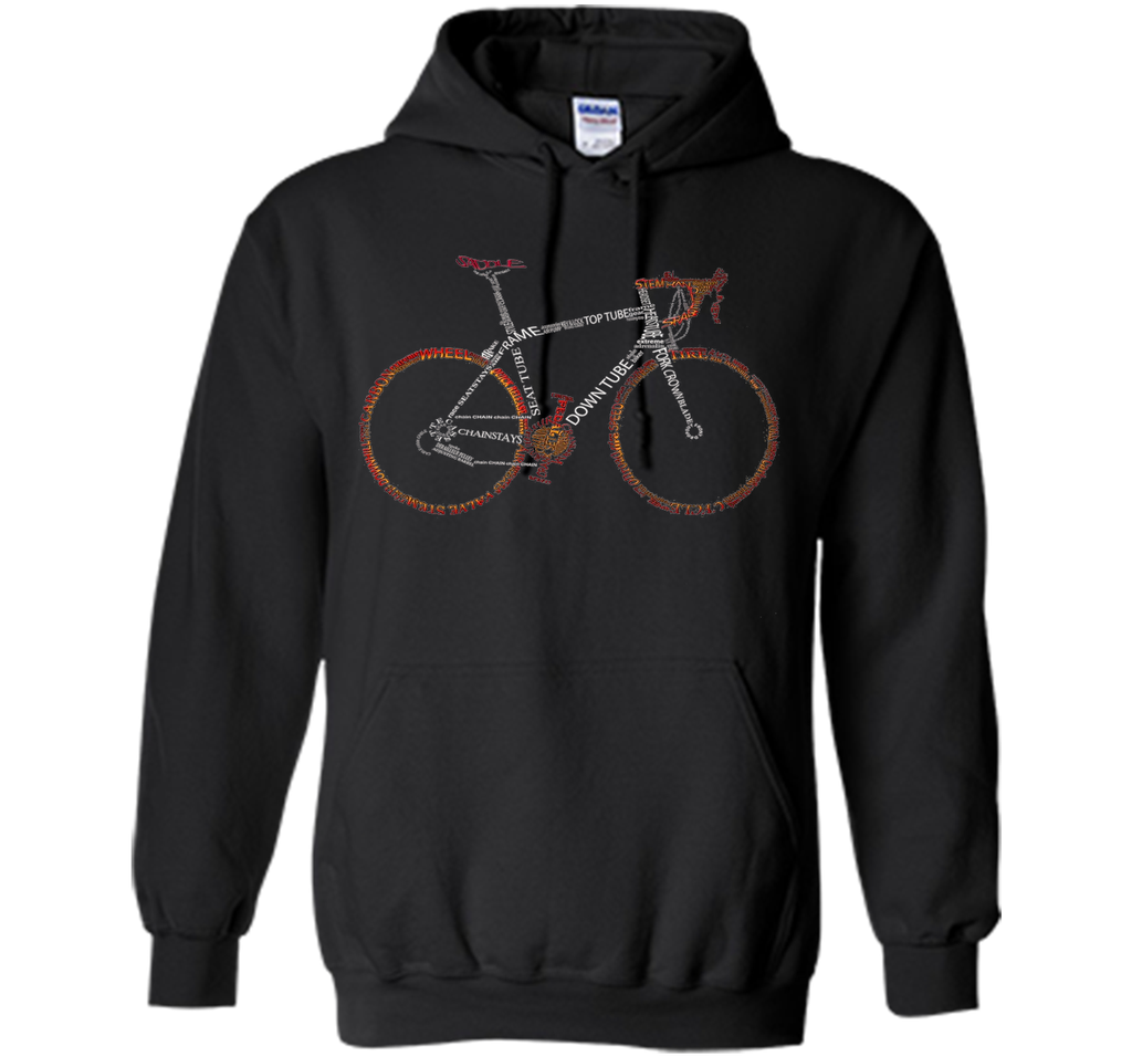 Bicycle Amazing anatomy tshirt - cool tshirt for cyclist cool shirt