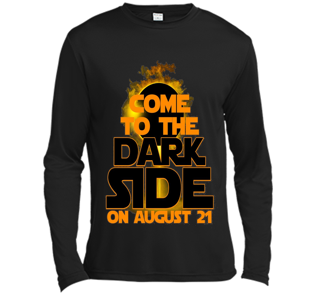 Come To The Dark Side On August 21 T-Shirt shirt