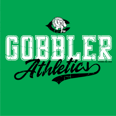 2020 COTTON - Cuero Gobbler Athletics Shirt
