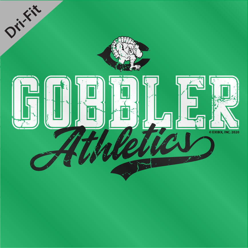 2020 DRYFIT - Cuero Gobbler Athletics Shirt
