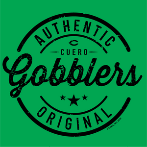 2020 COTTON - Cuero Gobbler Authentic Shirt