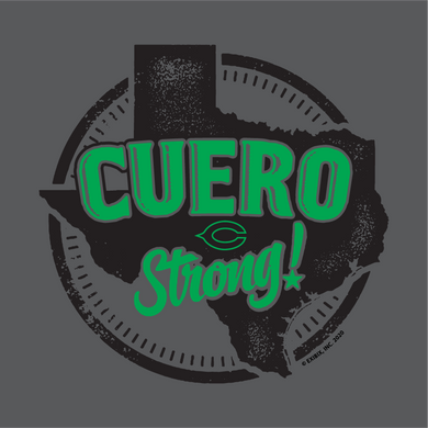 2020 COTTON - Cuero Gobbler Cuero Strong Shirt