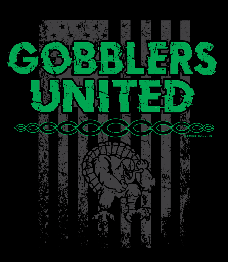 2020 COTTON - Cuero Gobblers United Shirt