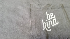 Be Kind Unisex Pocket Tee