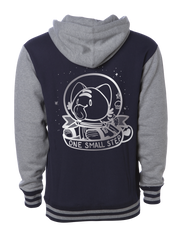 One Small Step Unisex Varsity Hoodie