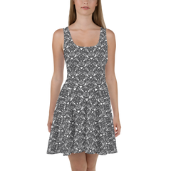 Sticks and Stones Dress - Charcoal