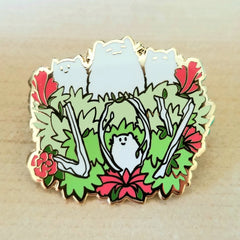 Joyous Floofs Hard Enamel Pin