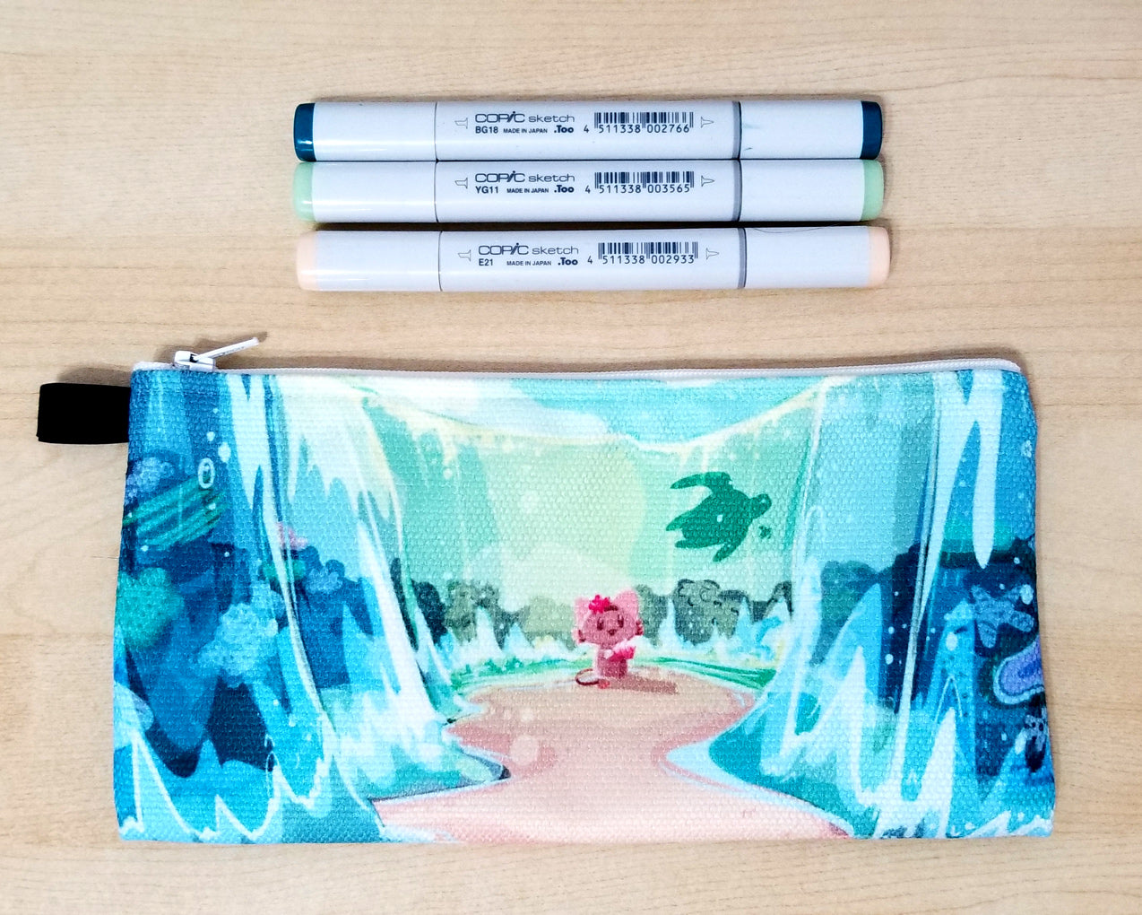Mo-Moana Pencil Case