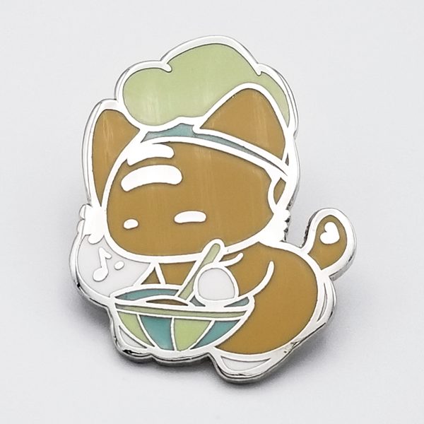 Chef Mo Hard Enamel Pin