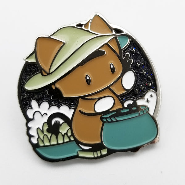 Mo's Bubbly Brew Enamel Pin