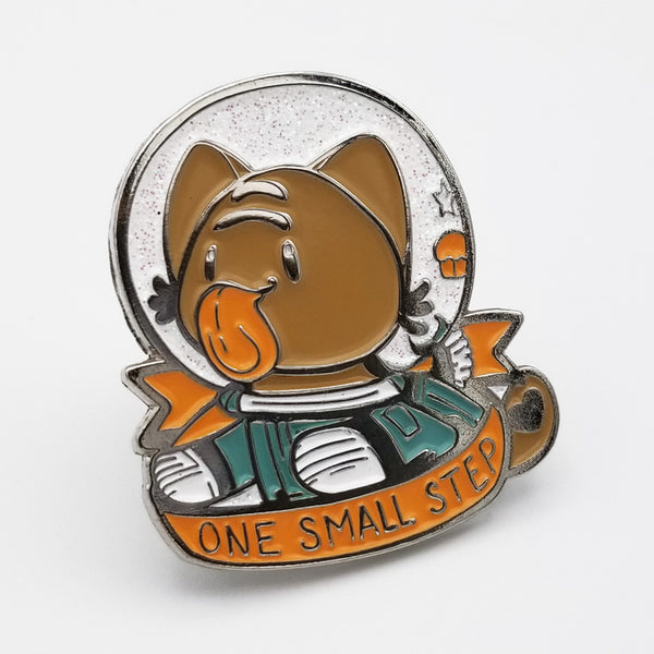 One Small Step Enamel Pin
