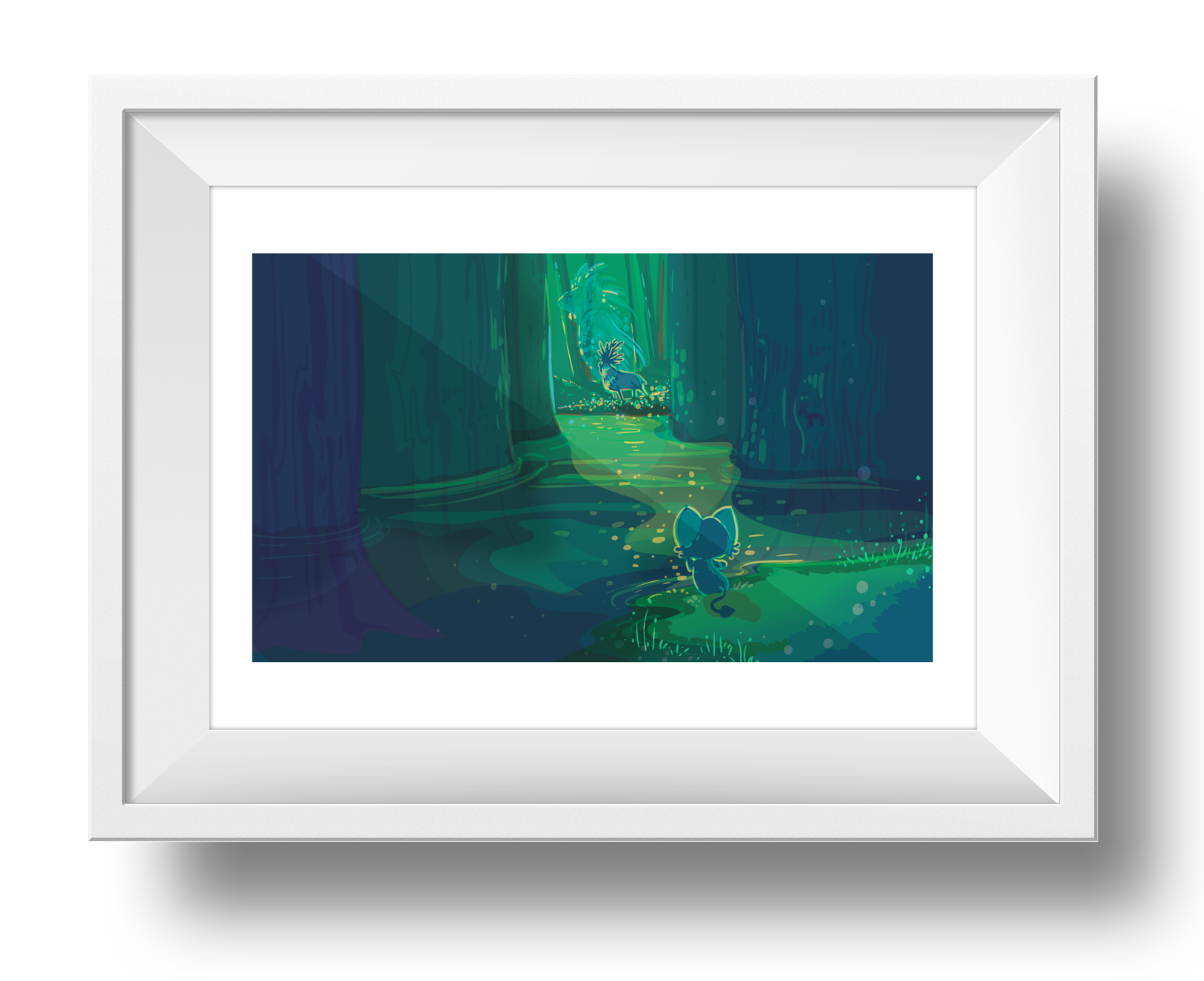 Forest Spirit Giclee Art Print