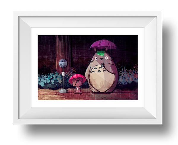 My Neighbor Momo Giclee Art Print