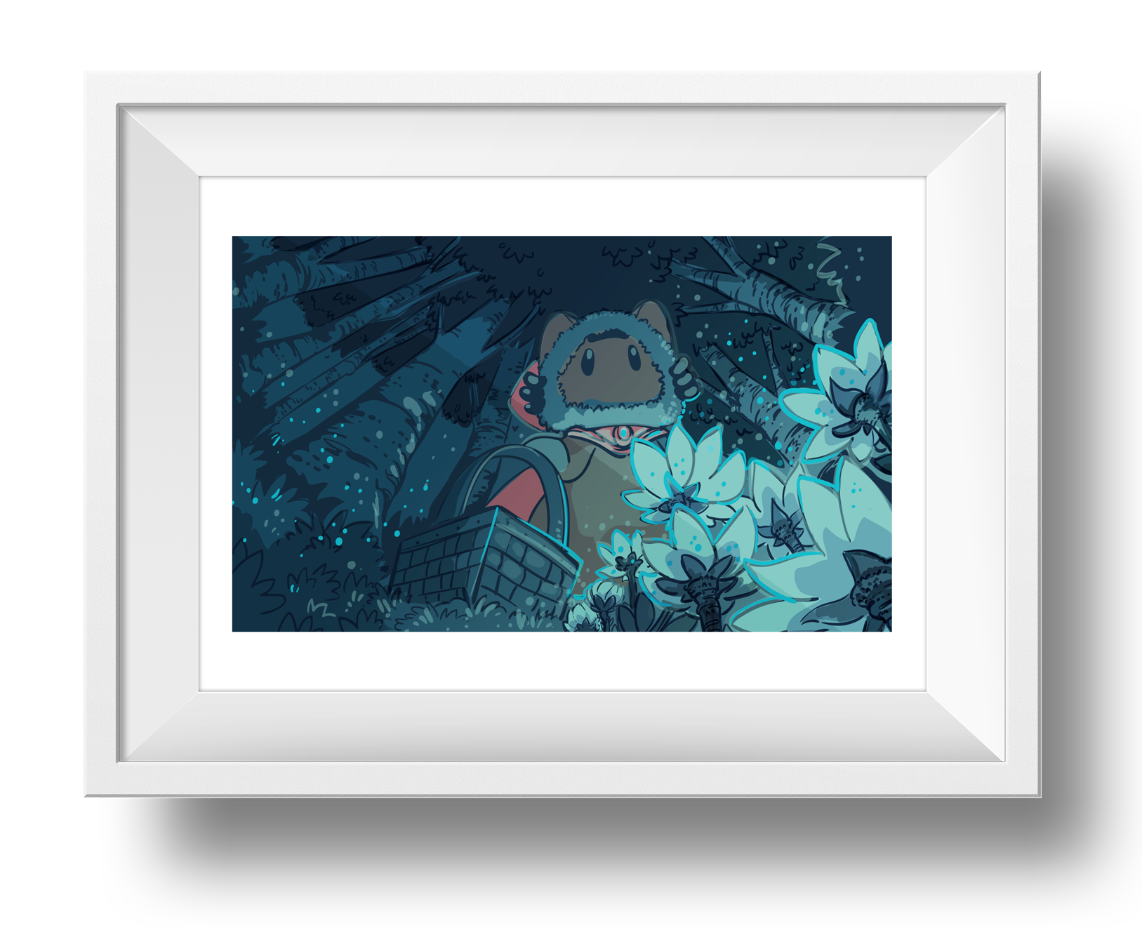 Snowflowers Found Giclee Art Print