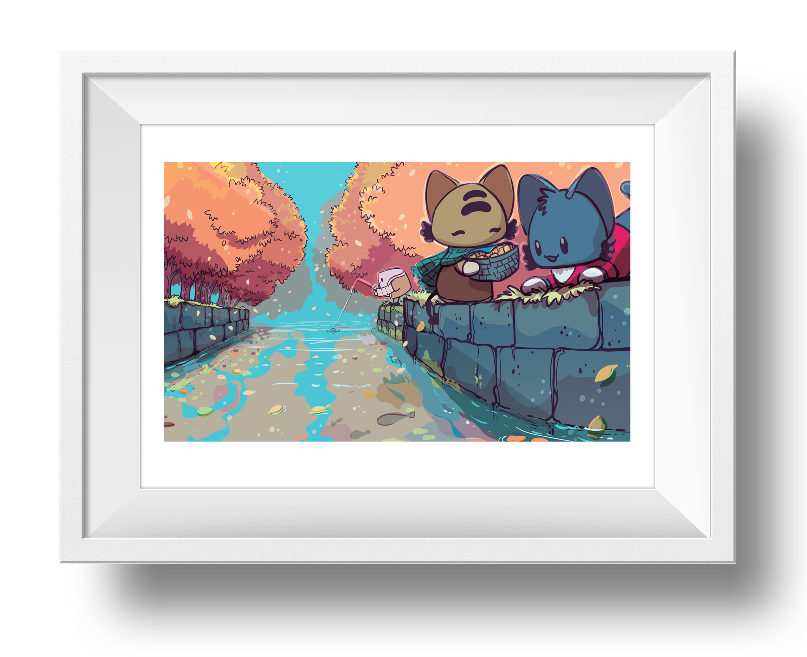 On the Way to the Feast Giclee Art Print