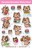 Marvelous Momocheet Sticker Sheet Volume 1