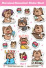 Marvelous Momocheet Sticker Sheet Volume 2