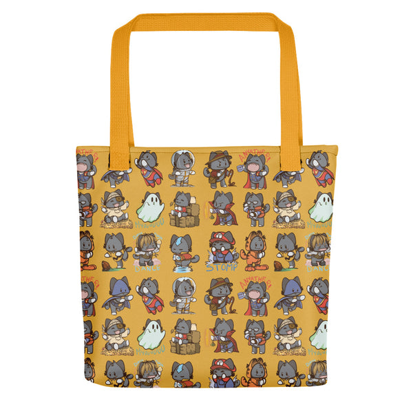 Cosplay Cats Tote Bag