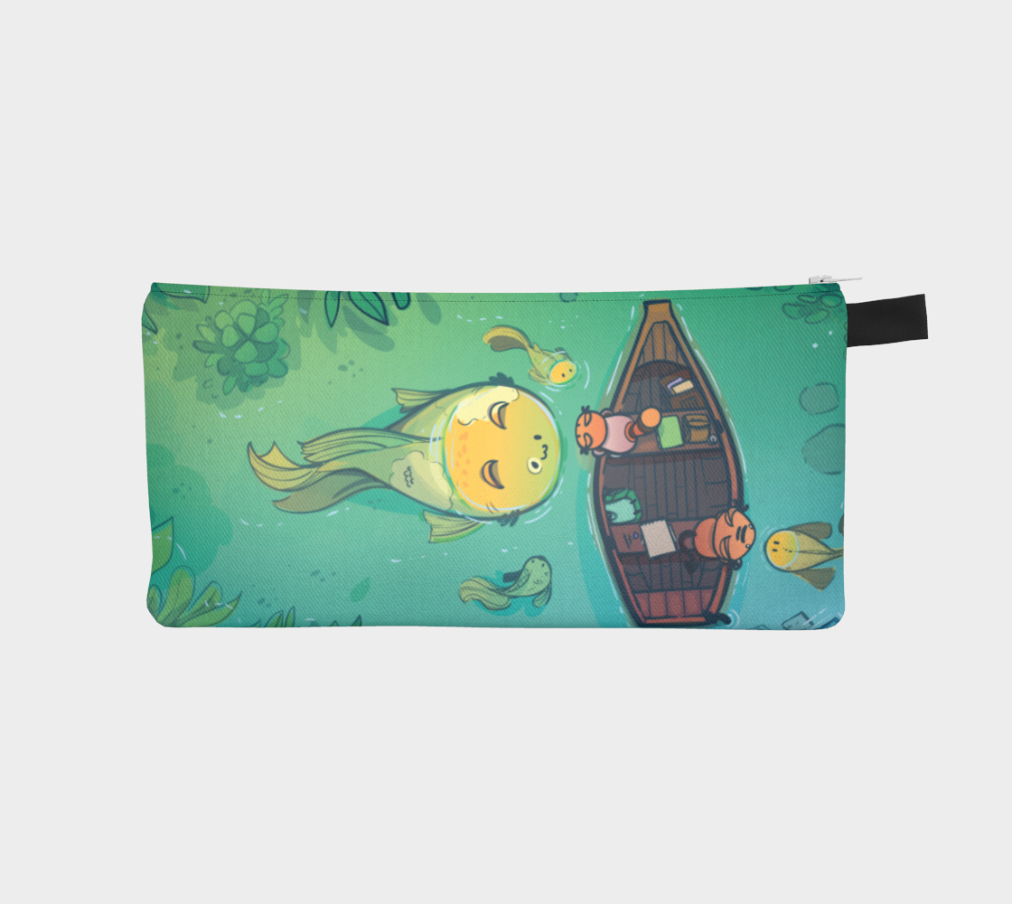 Curious Fish Pencil Case - Preorder
