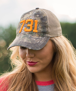731 Cap - Realtree Camo/Orange