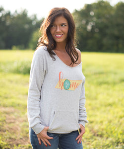 Home Pullover Sweatshirt
