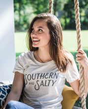 Southern and Salty T-shirt in Oatmeal