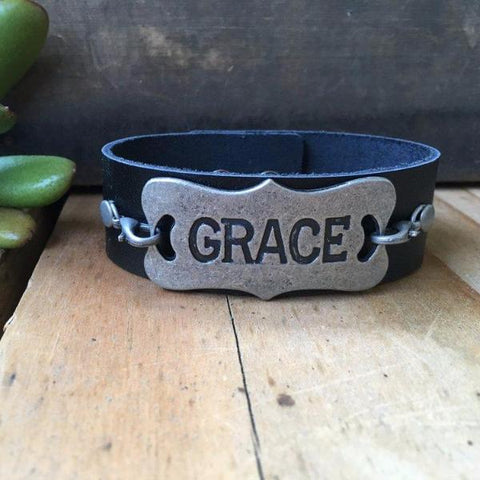 HOPE LEATHER CUFF