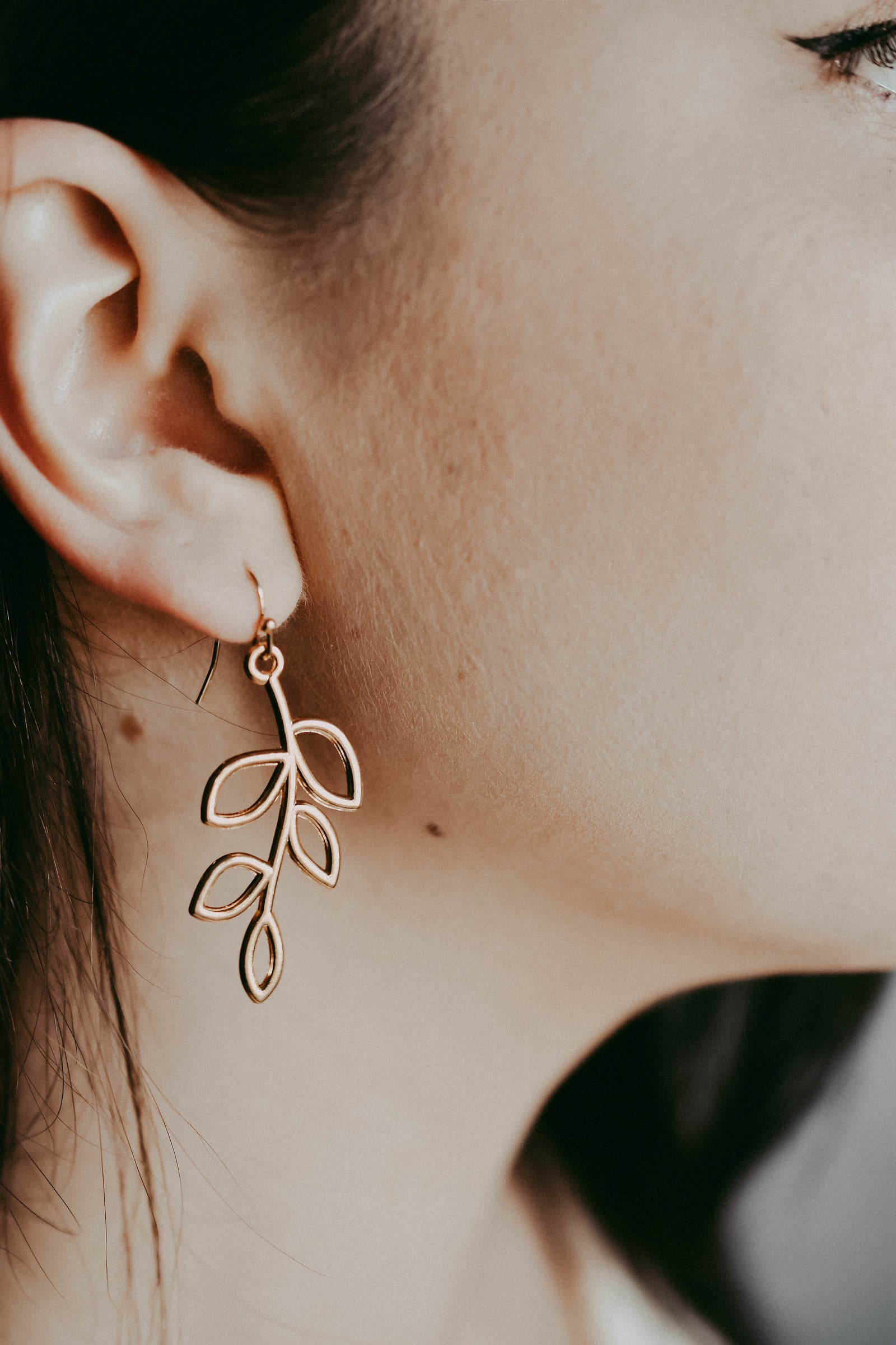 GOLDEN BRANCH EARRINGS