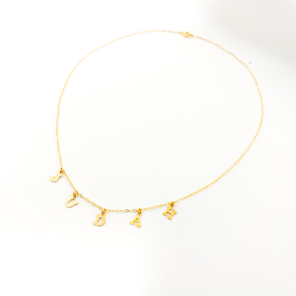 14K GOLD-FILLED NAME NECKLACE
