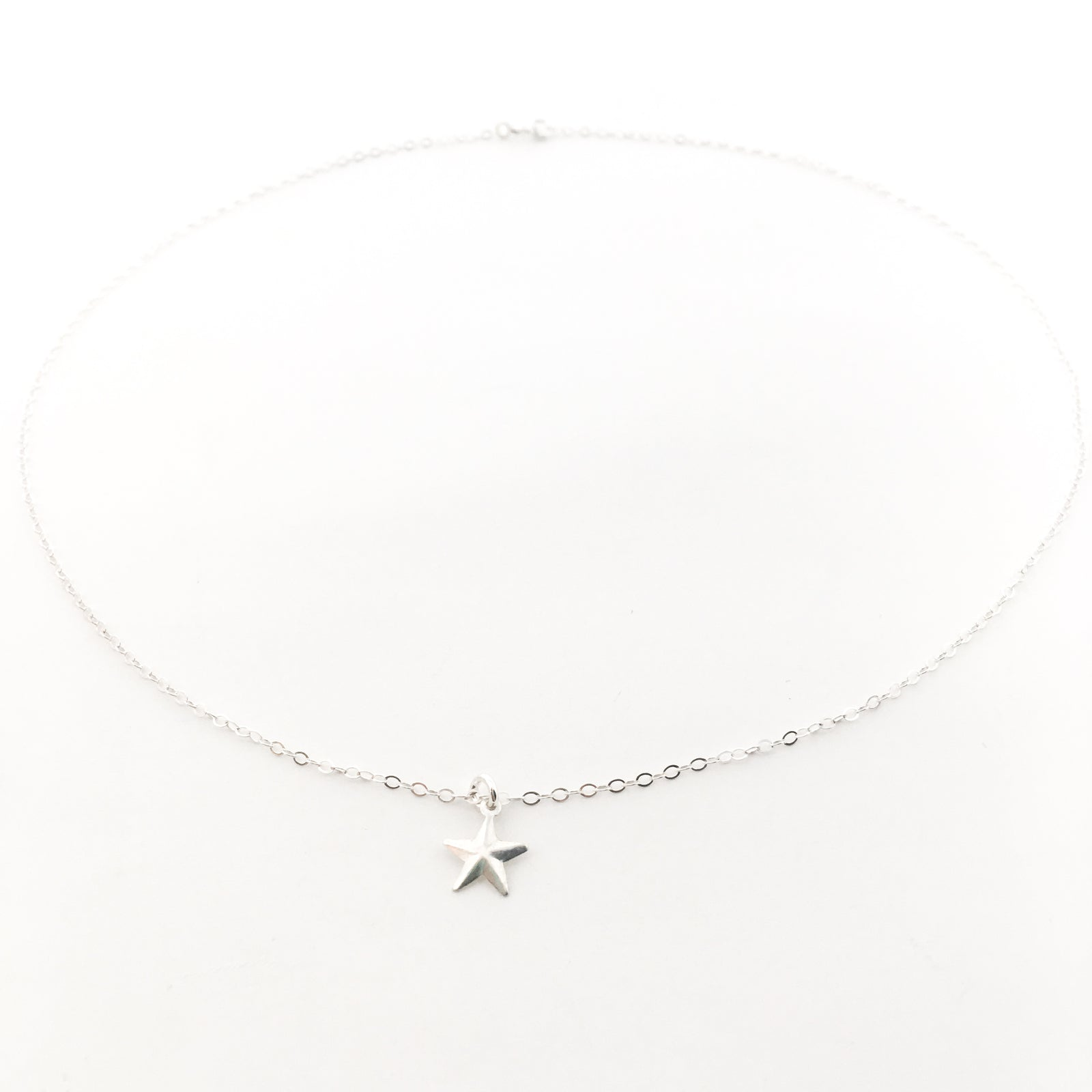 RUSTIC STAR NECKLACE | STERLING SILVER