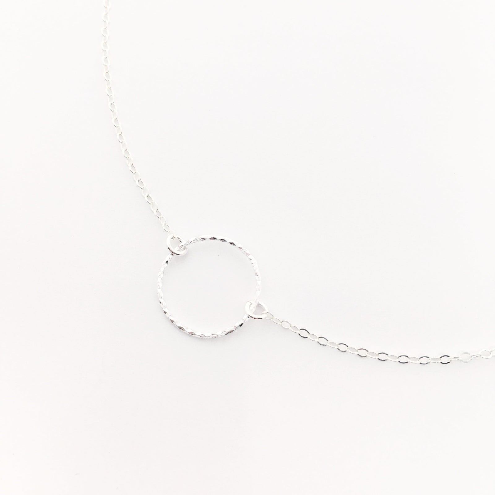 UNENDING LOVE NECKLACE | STERLING SILVER