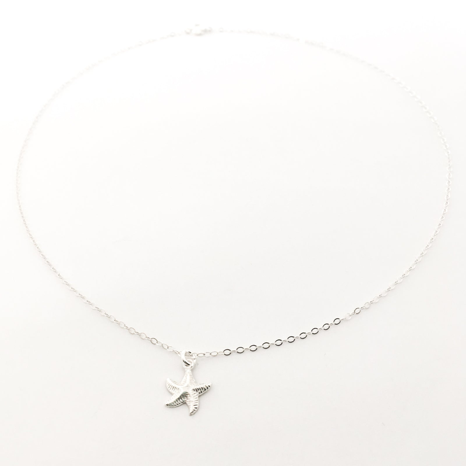 STARFISH NECKLACE | STERLING SILVER