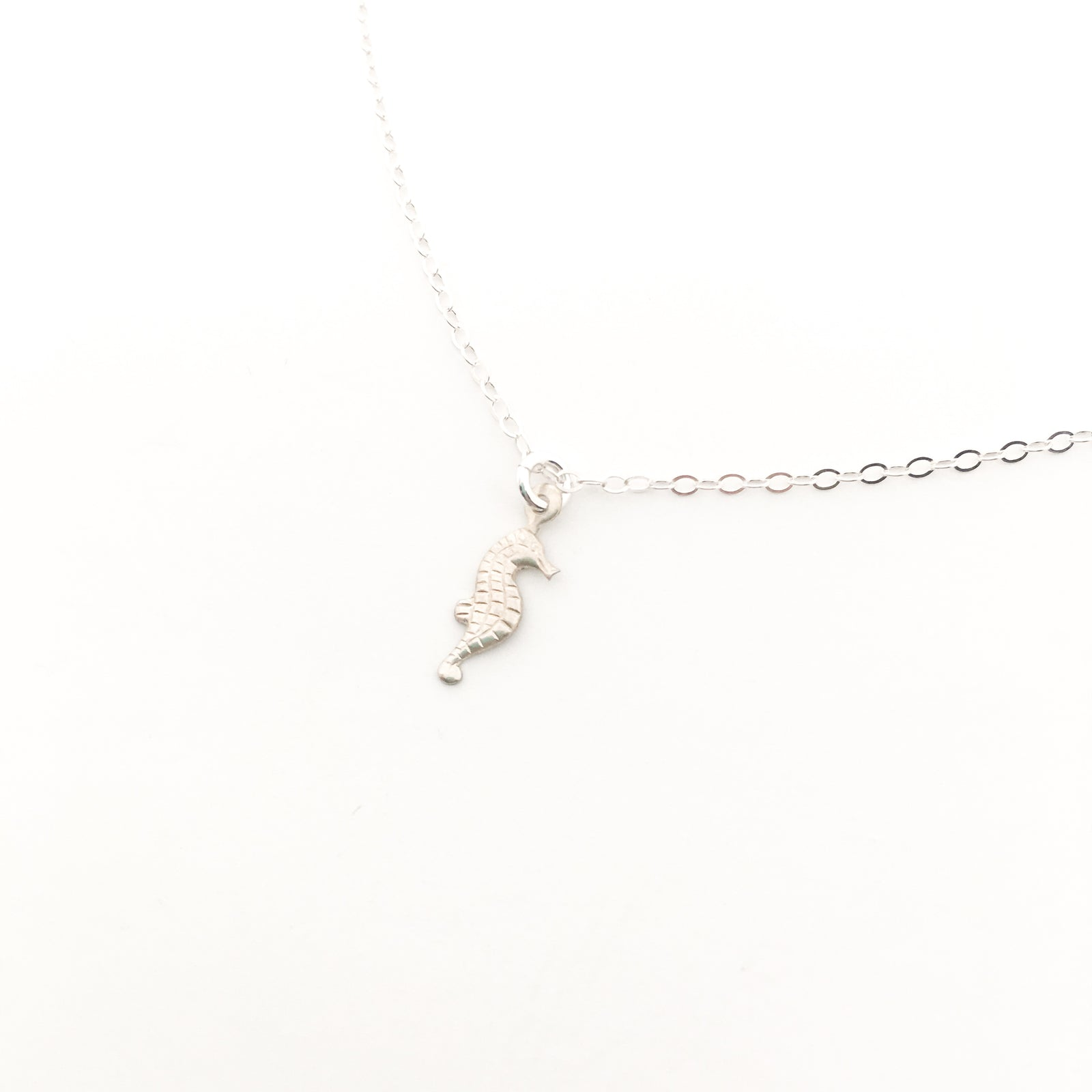 SEAHORSE NECKLACE | STERLING SILVER