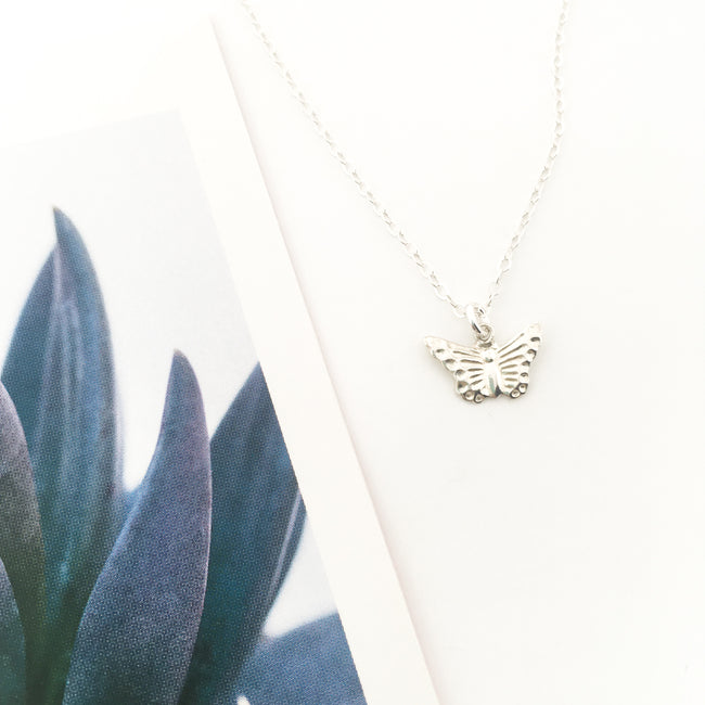 BUTTERFLY NECKLACE | STERLING SILVER