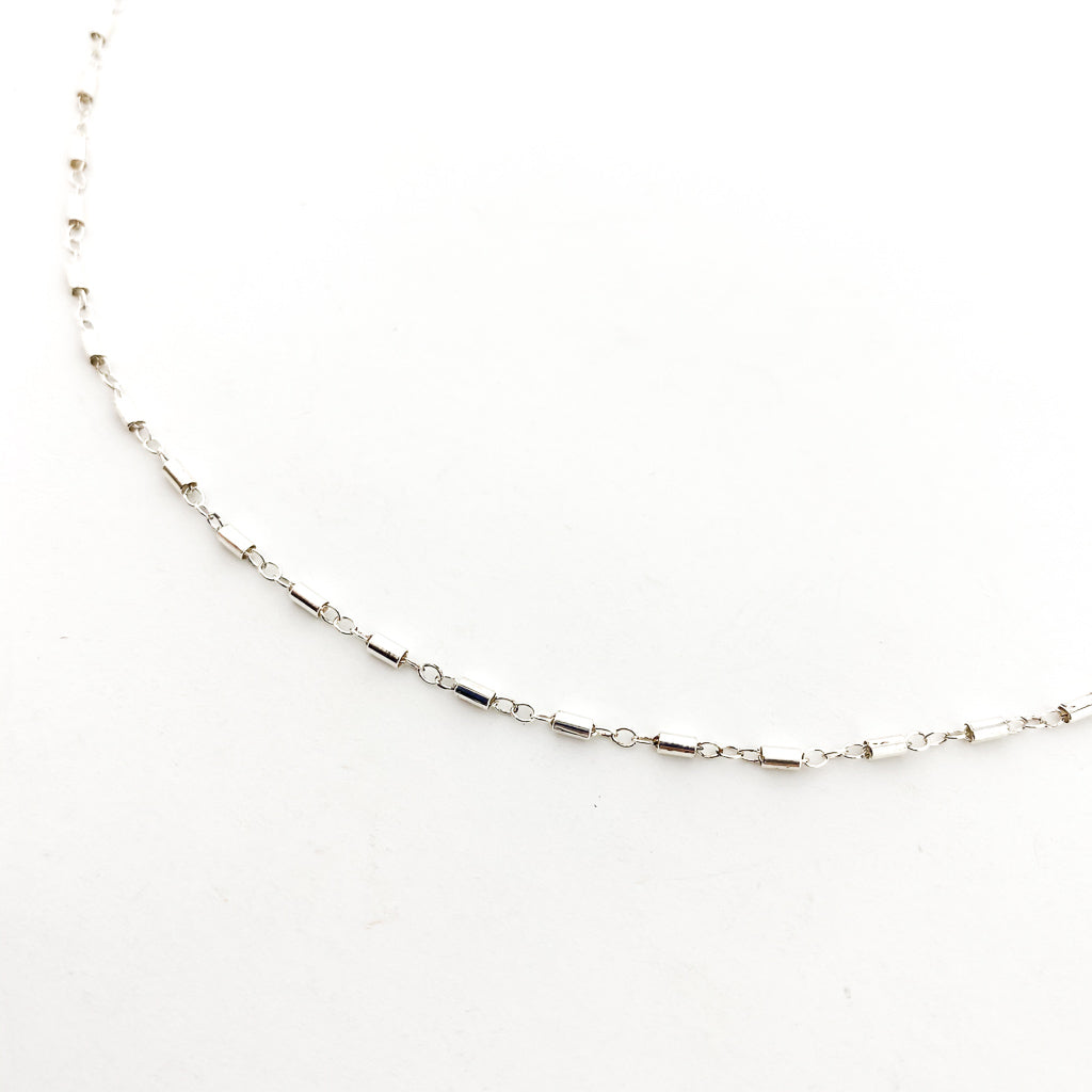 DESIGN CHAIN NECKLACE | STERLING SILVER