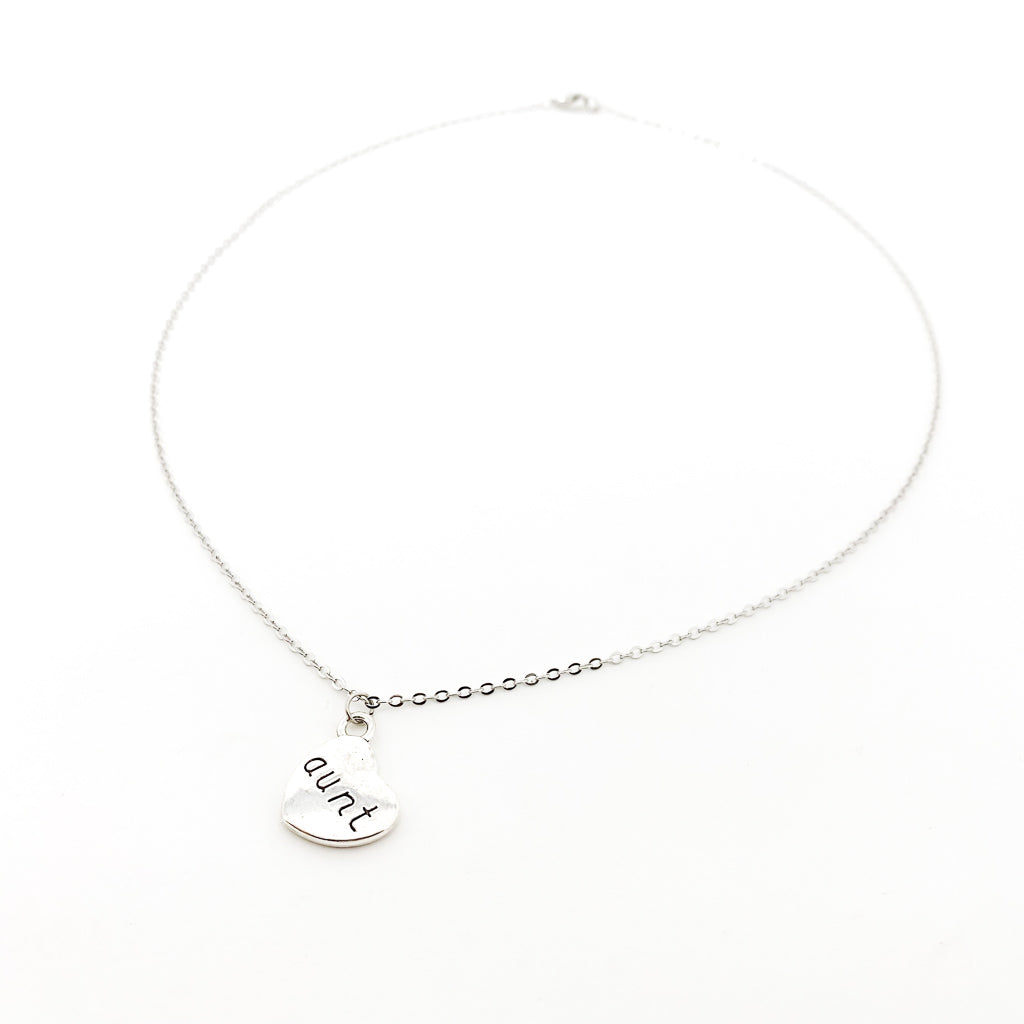 LOVED AUNT NECKLACE | SILVER