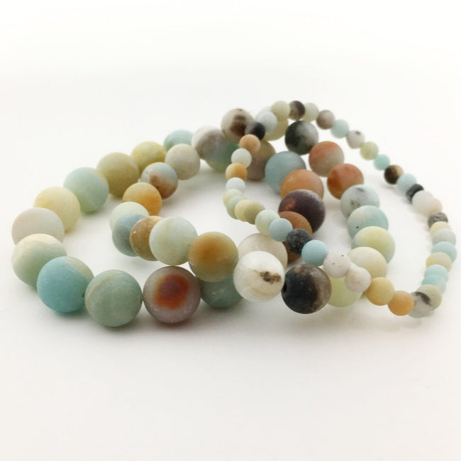 AMAZONITE BRACELETS | SIZE OPTIONS