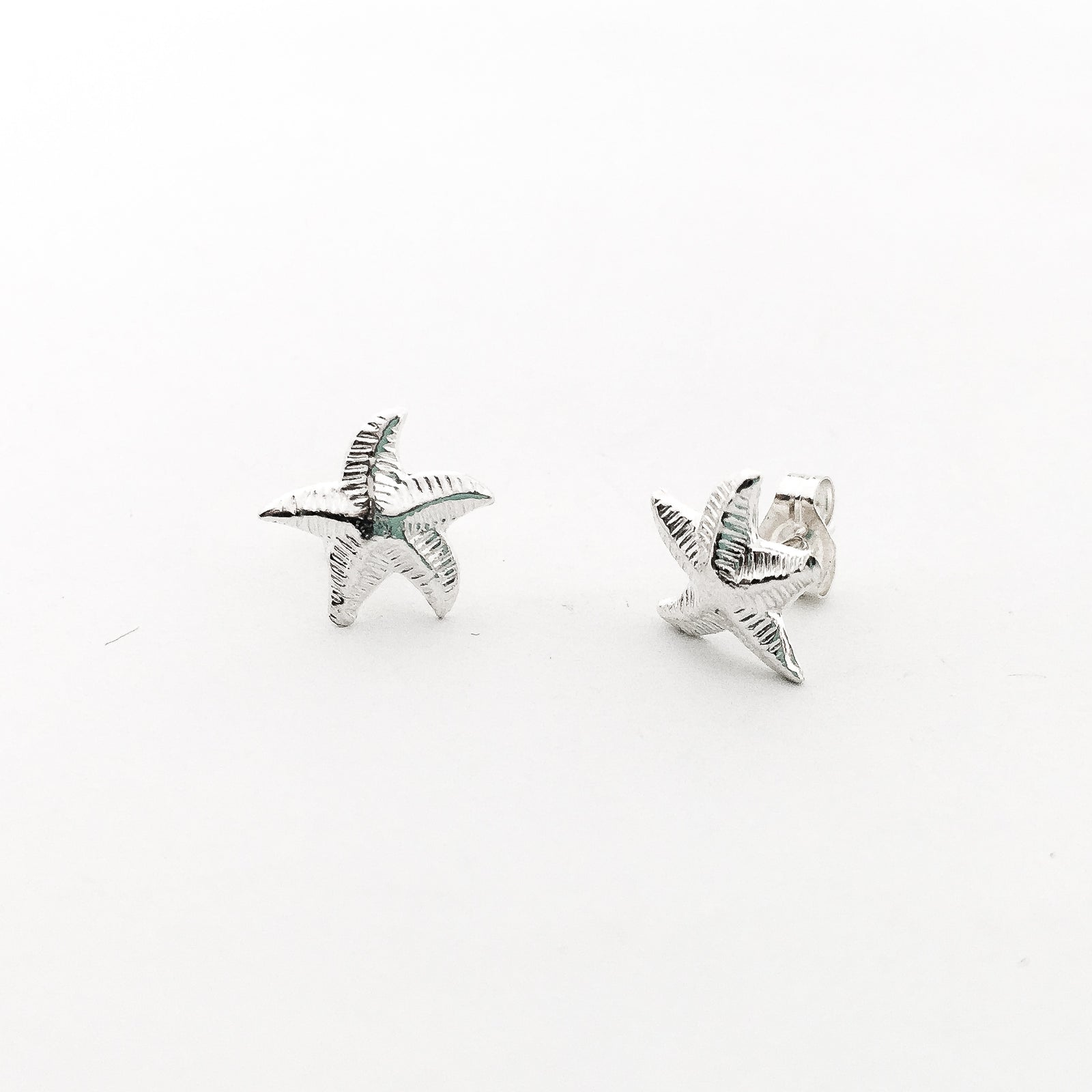 STARFISH STUD EARRINGS | STERLING SILVER