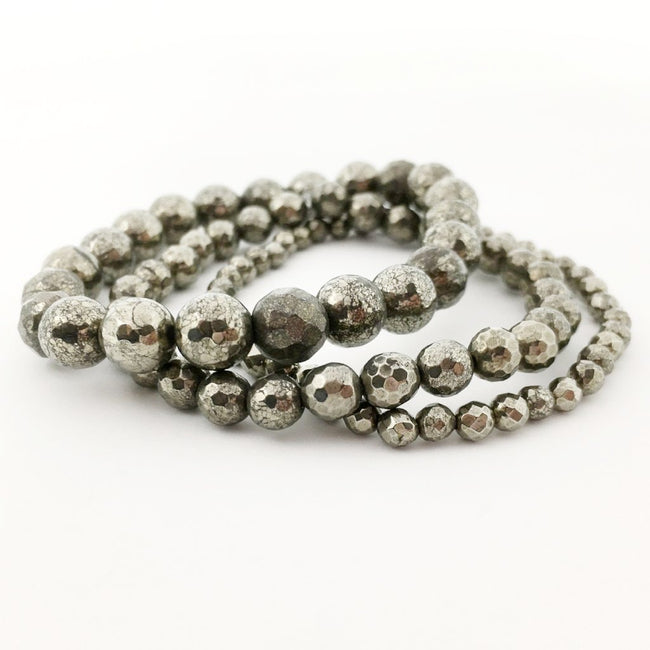 PYRITE BRACELETS | SIZE OPTIONS