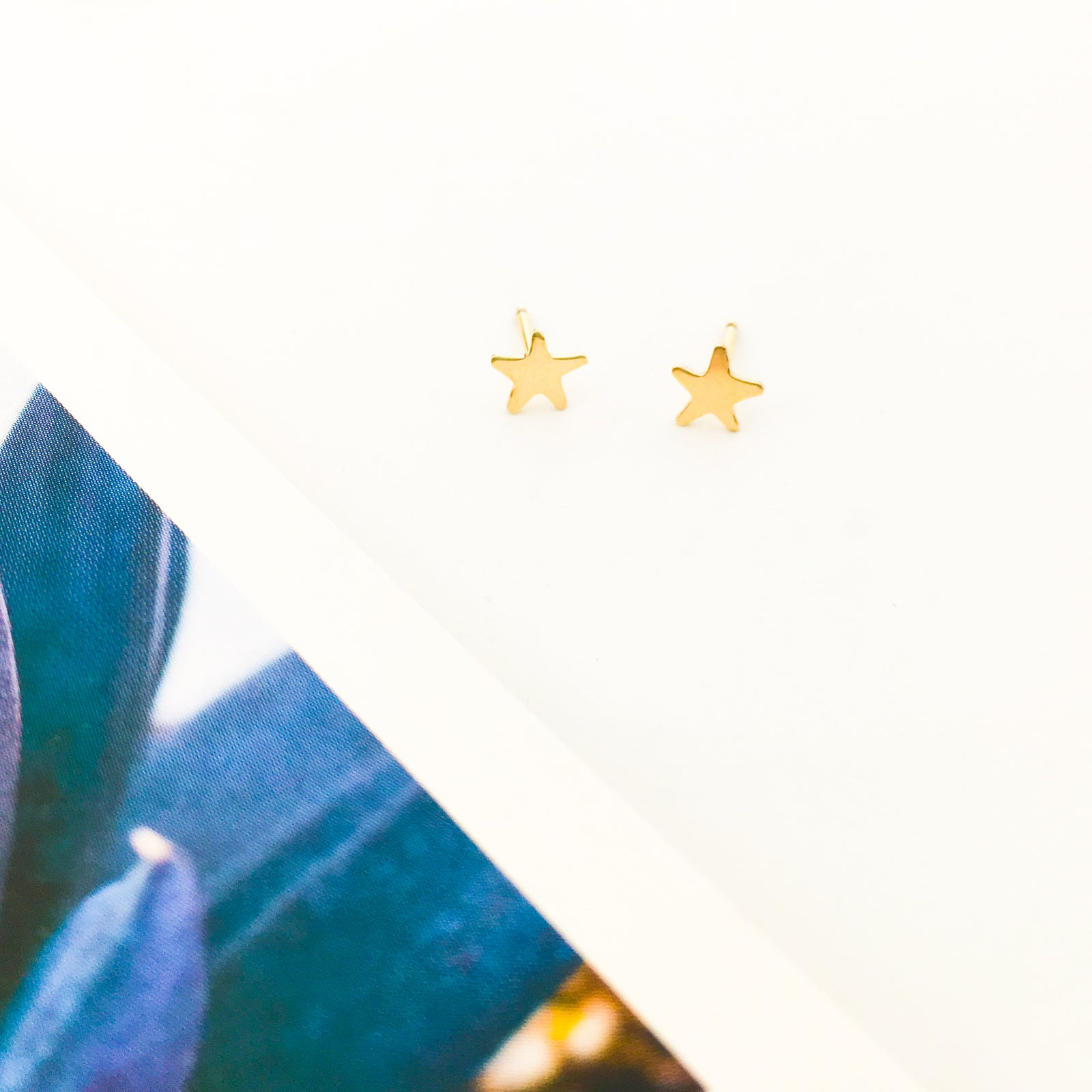 MINI STAR STUD EARRINGS | 14K GOLD-FILLED