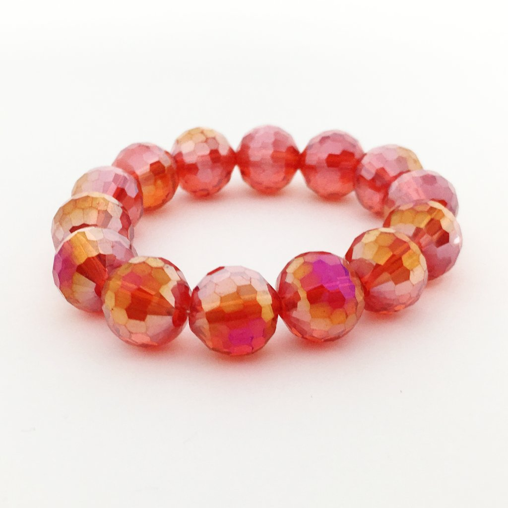 KIDS CRYSTAL BRACELETS | 12MM | LIGHT COLOR OPTIONS