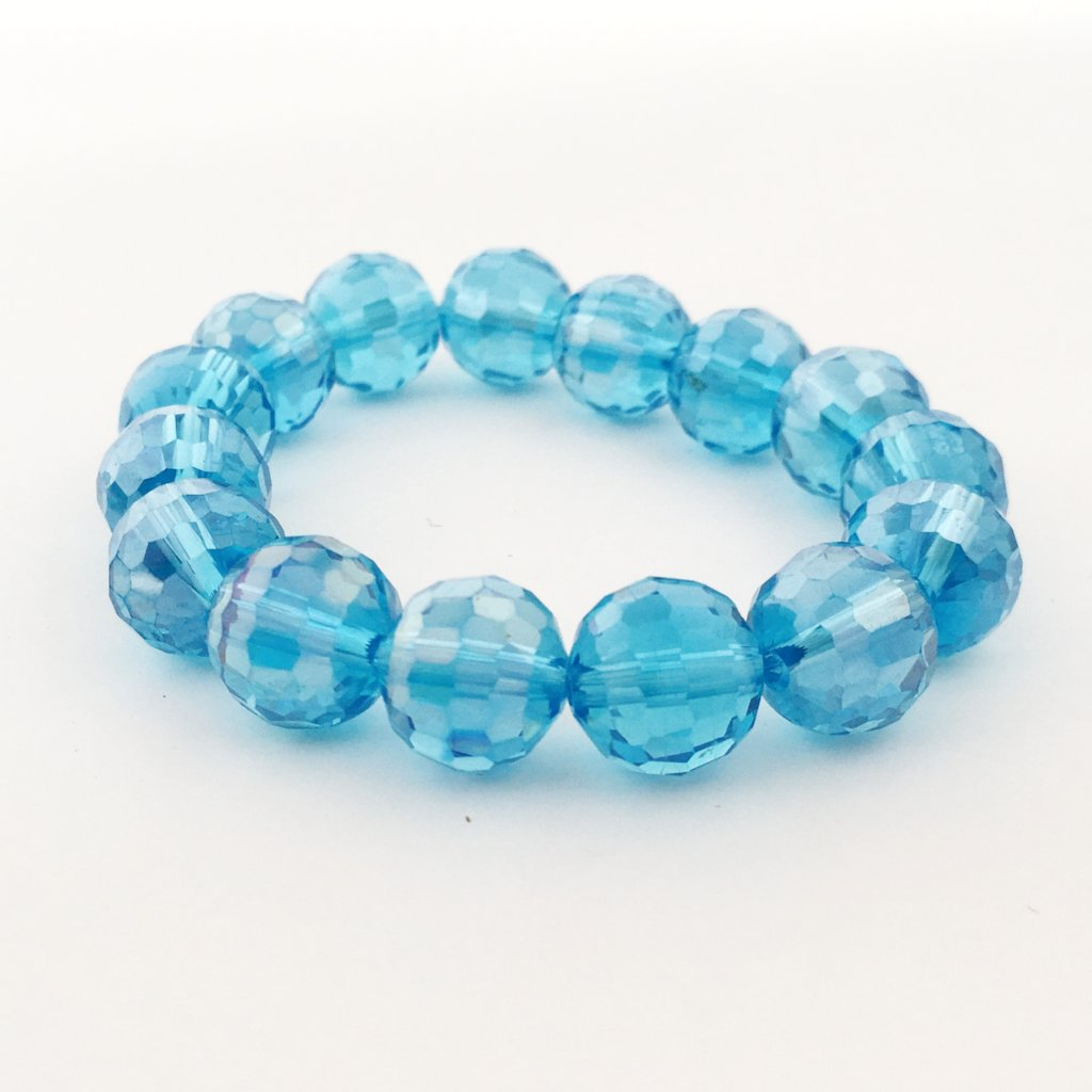 KIDS CRYSTAL BRACELETS | 12MM | DARK COLOR OPTIONS
