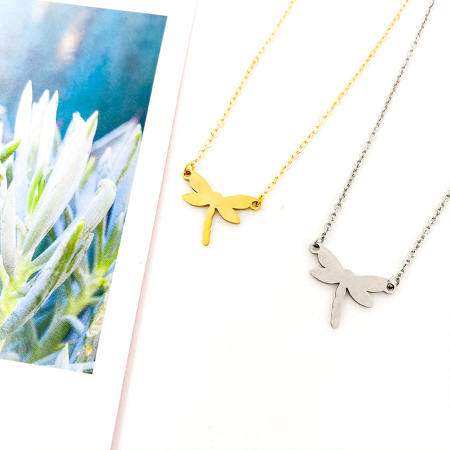 MINI DRAGONFLY NECKLACES | STYLE OPTIONS