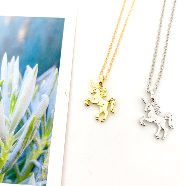 SOLID UNICORN NECKLACES | COLOR OPTIONS