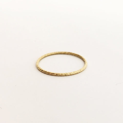 4MM HAMMERED WIDE STACKING RING| STERLING SILVER | SIZE OPTIONS