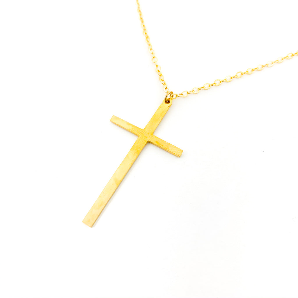 LONG CROSS NECKLACES | STYLE OPTIONS