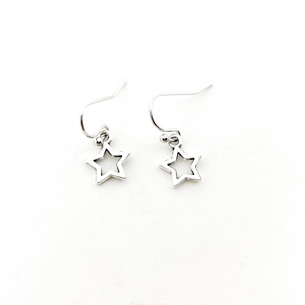 MINI OPEN STAR EARRINGS | COLOR OPTIONS