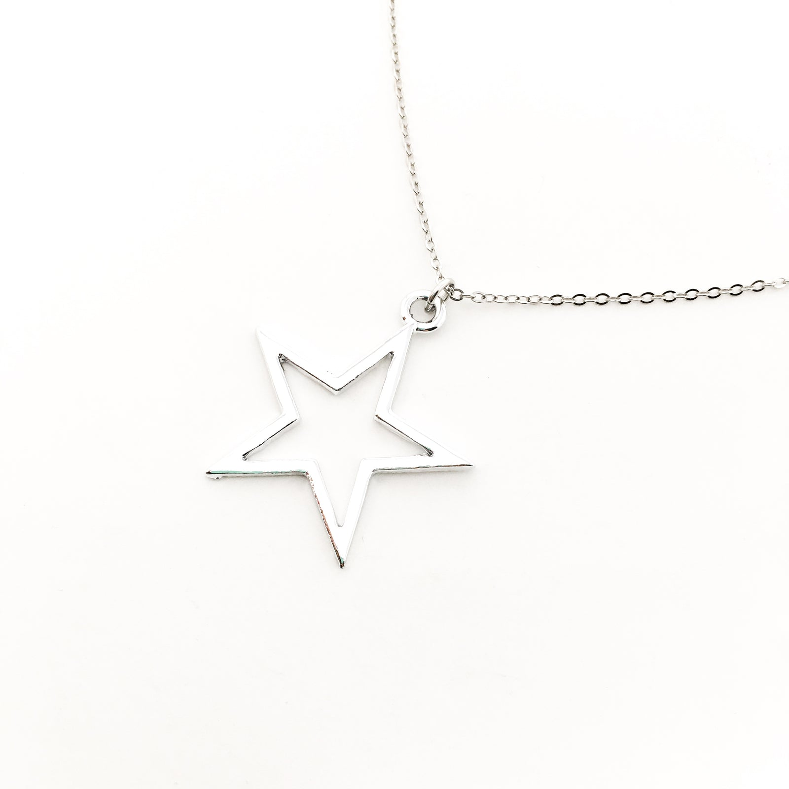 BRIGHT STAR NECKLACE | SILVER